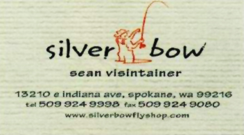 Silver Bow Business Card.